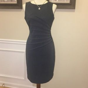 Dresses & Skirts - NWOT IVANKA TRUMP GREY SIDE ZIPPER DRESS SZ 6